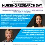 Image for the Tweet beginning: The Center for Nursing Research