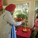 Image for the Tweet beginning: Honour to host Mr Prabhjot