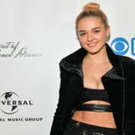 Image for the Tweet beginning: Charlotte Lawrence attends at the