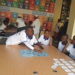 Image for the Tweet beginning: #BurundiUNDAY2019 #SDG's board game with