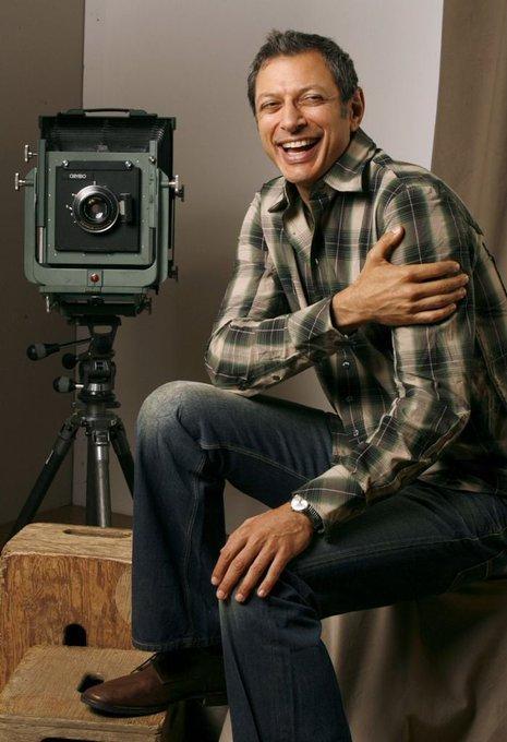 Happy Birthday to Jeff Goldblum! Photo by Jeff Vespa.