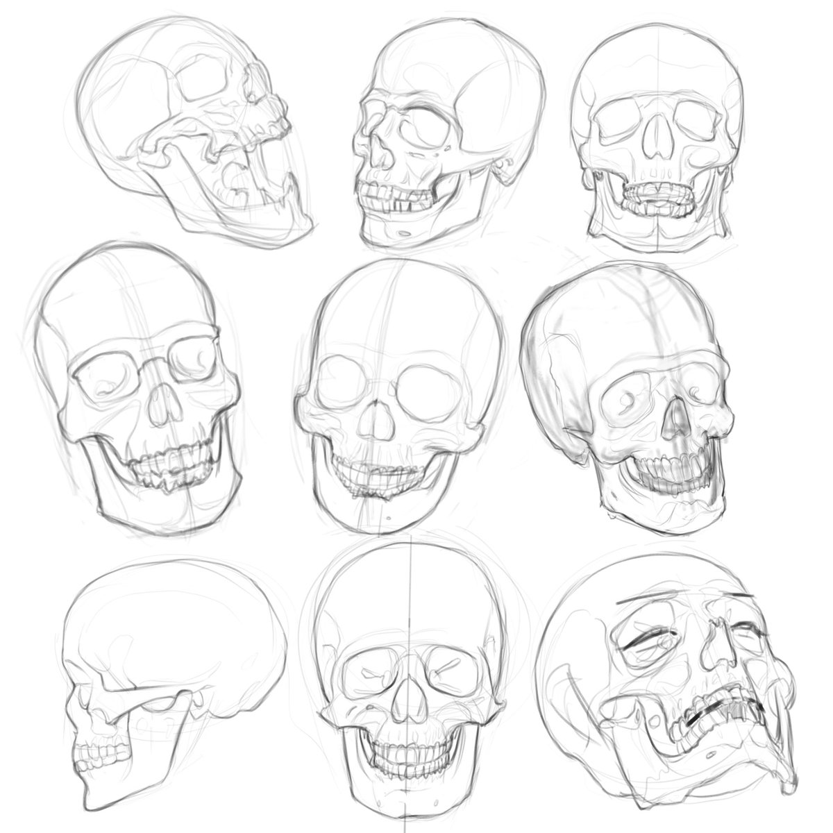 Ergo Josh On Twitter We Re Drawing Spooky Bois Tomorrow At 1pm Est Come Learn How To Draw Skulls Or Maybe 2spooki4u