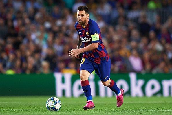 Treffer gegen 33 Mannschaften in der Champions League: Lionel Messi zieht mit Cristiano Ronaldo und Raul gleich