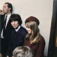 George & Pattie The #Beatles via @Beatle_bois
