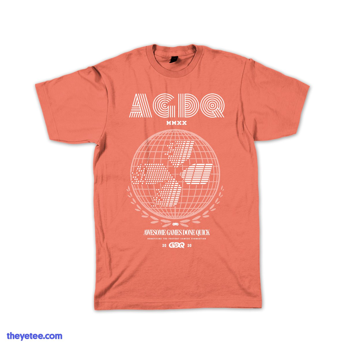 Awesome Games Done Quick 2020.The Yetee On Twitter We Are Proud To Present The Official