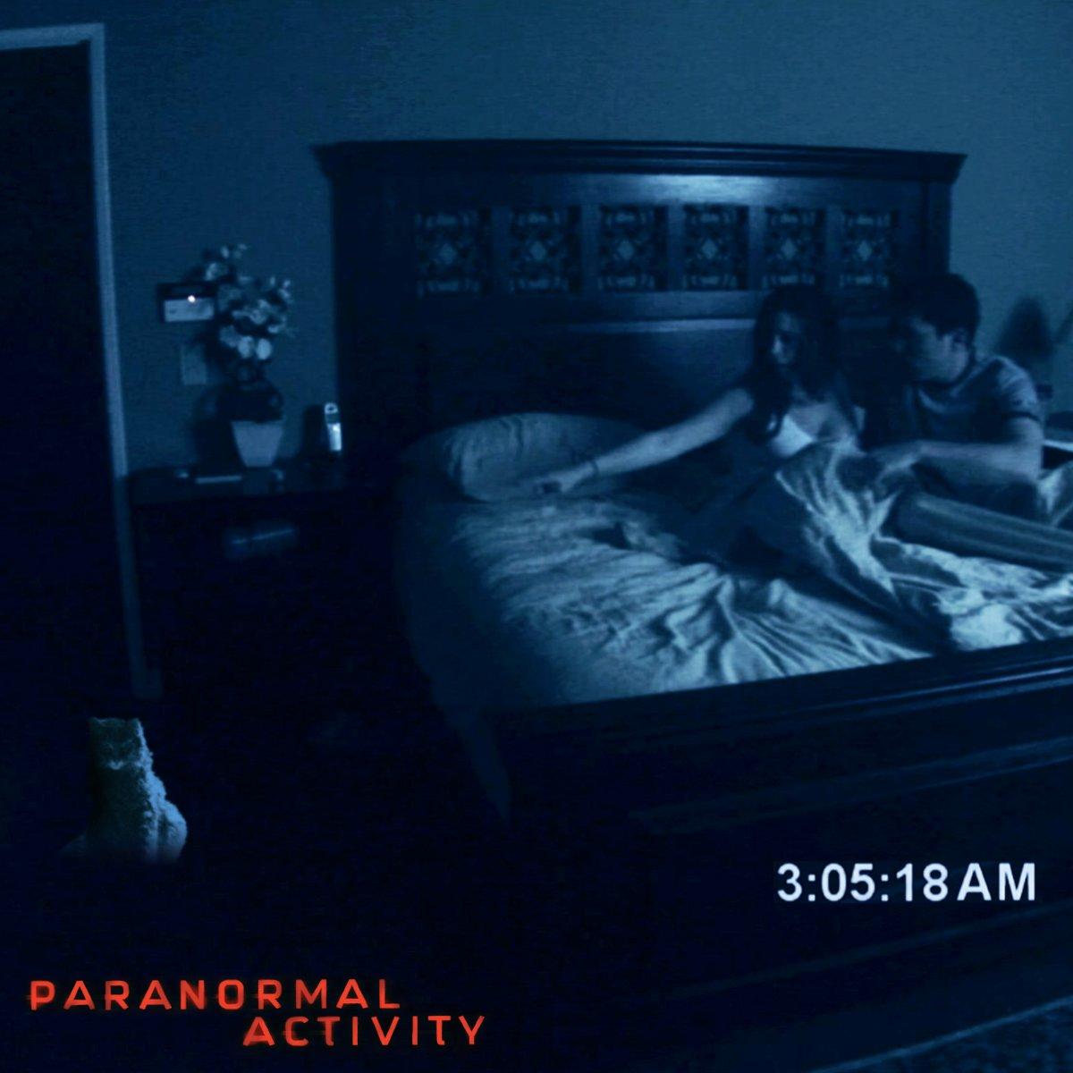 Paranormal Activity adalah salah satu film horor yang memiliki banyak penggemar di dunia (Foto via Twitter @@TweetYourScream)