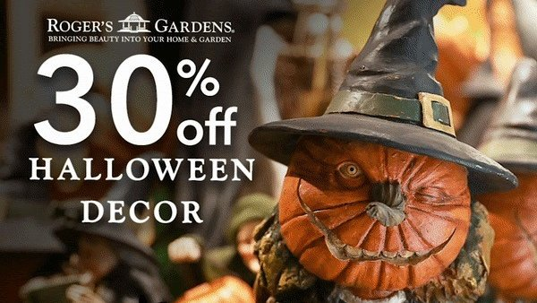 Roger S Gardens On Twitter Don T Forget That Our Halloween Decor Is Currently On Sale At 30 Off Hurry In To Grab Some Last Minute Pieces Before Halloween Night Https T Co Ylmptjwlec