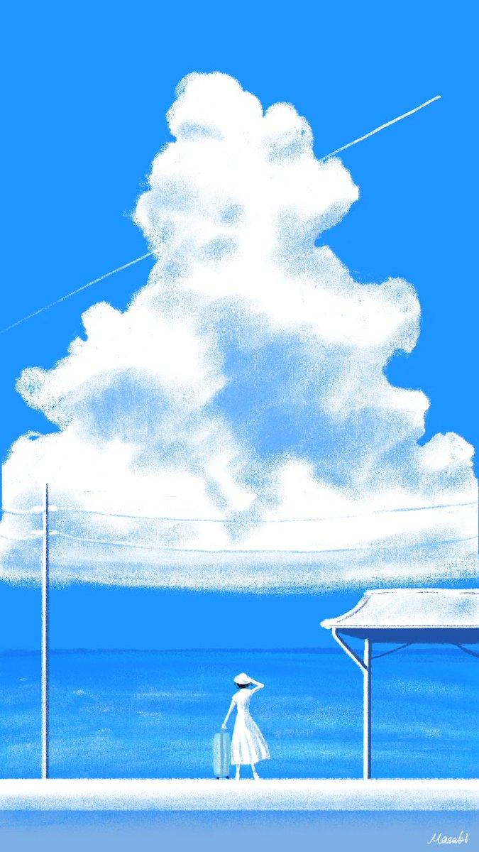 Momo Yama على تويتر かわいい というよりあなたの絵の特徴は どこにでもある風景の中に潜むノスタルジックな寂寥感だと思う それが私の中の不思議な感情を呼び起こす これまでで一番好きなのはこの絵です 若い頃ののユーミンのlpジャケットにピッタリだろう