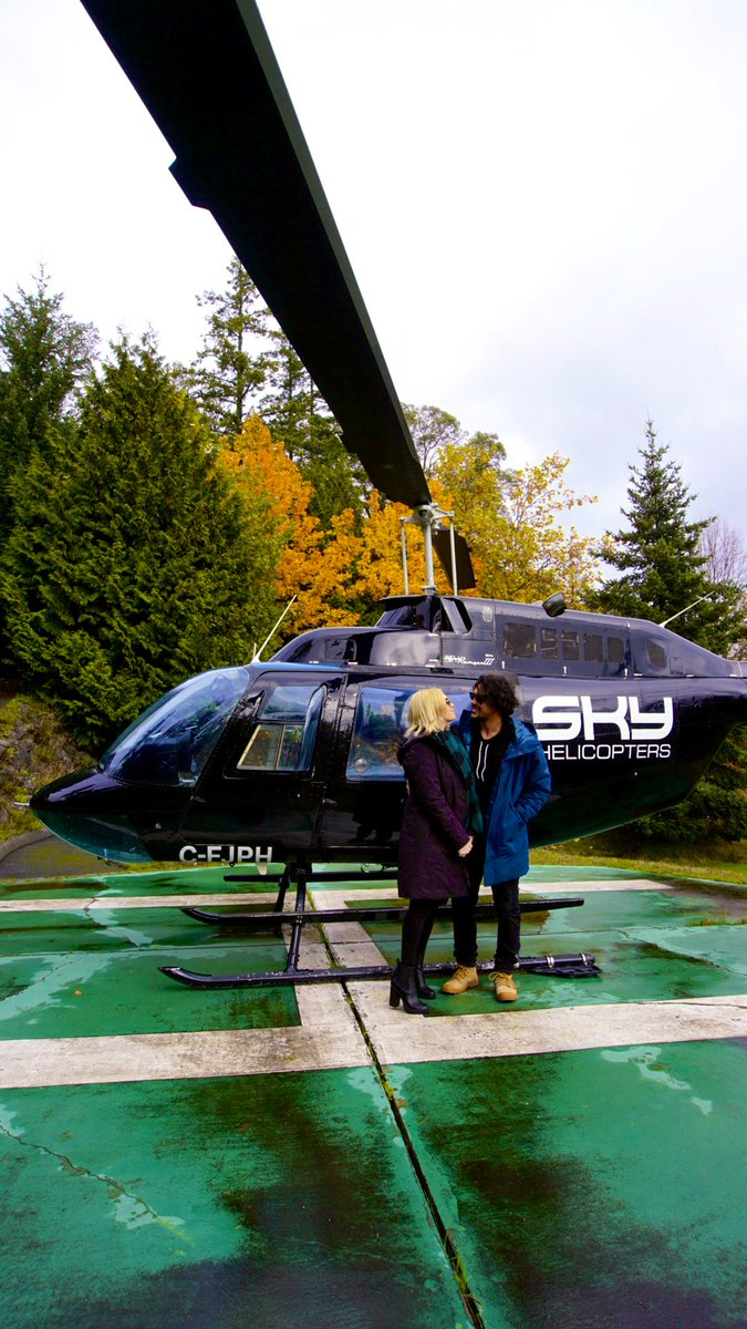 A magical day with a magical man. Goodbye 20s!! It's been real 🥳💕 @WildpipM @skyhelicopters @VillaEyrie