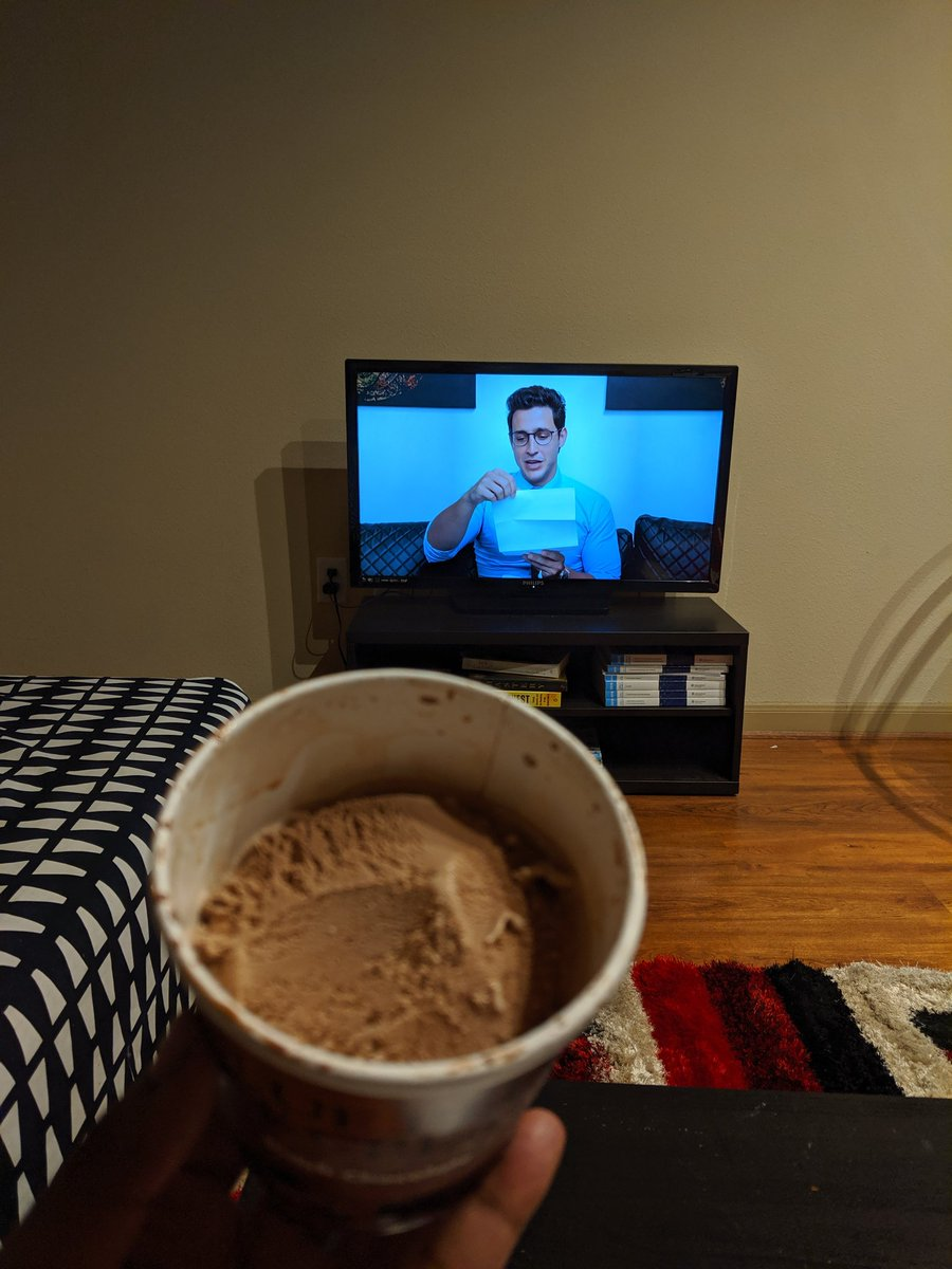 @RealDoctorMike Bad timing for chocolate ice cream