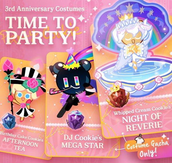Surprising Cookie Run Updates On Twitter Ovenbreak New Costumes Personalised Birthday Cards Xaembasilily Jamesorg