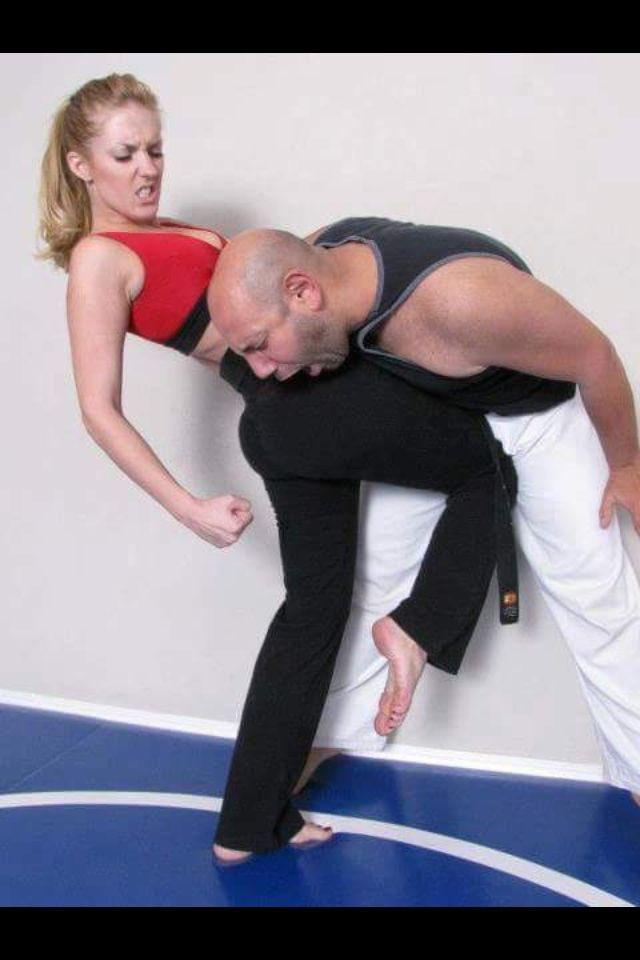 White wolf self defense trainer