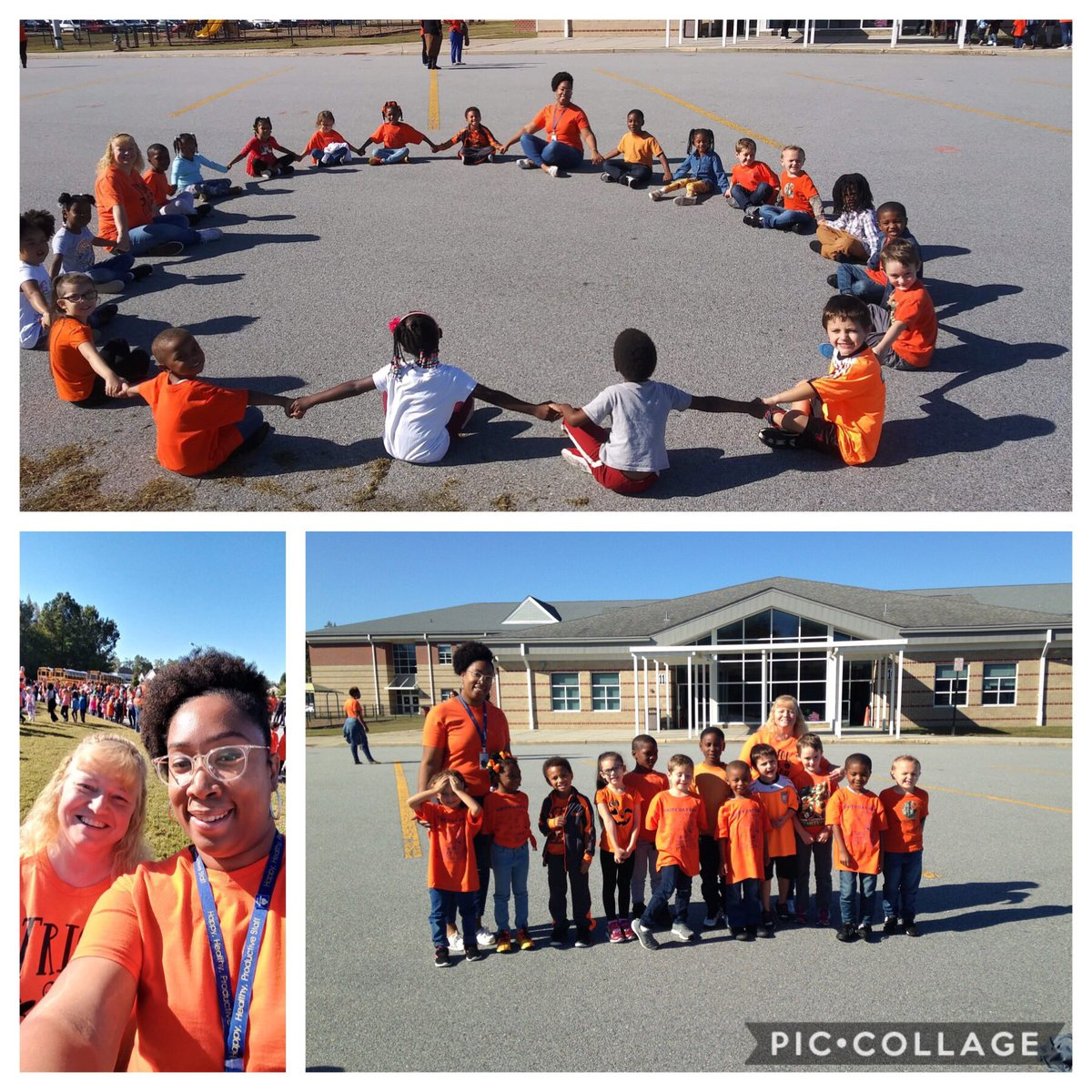 Unity Day 2019! C109 will not be bullies! We include everyone and choose kindness! #hesteach #spsk12proud #wecare