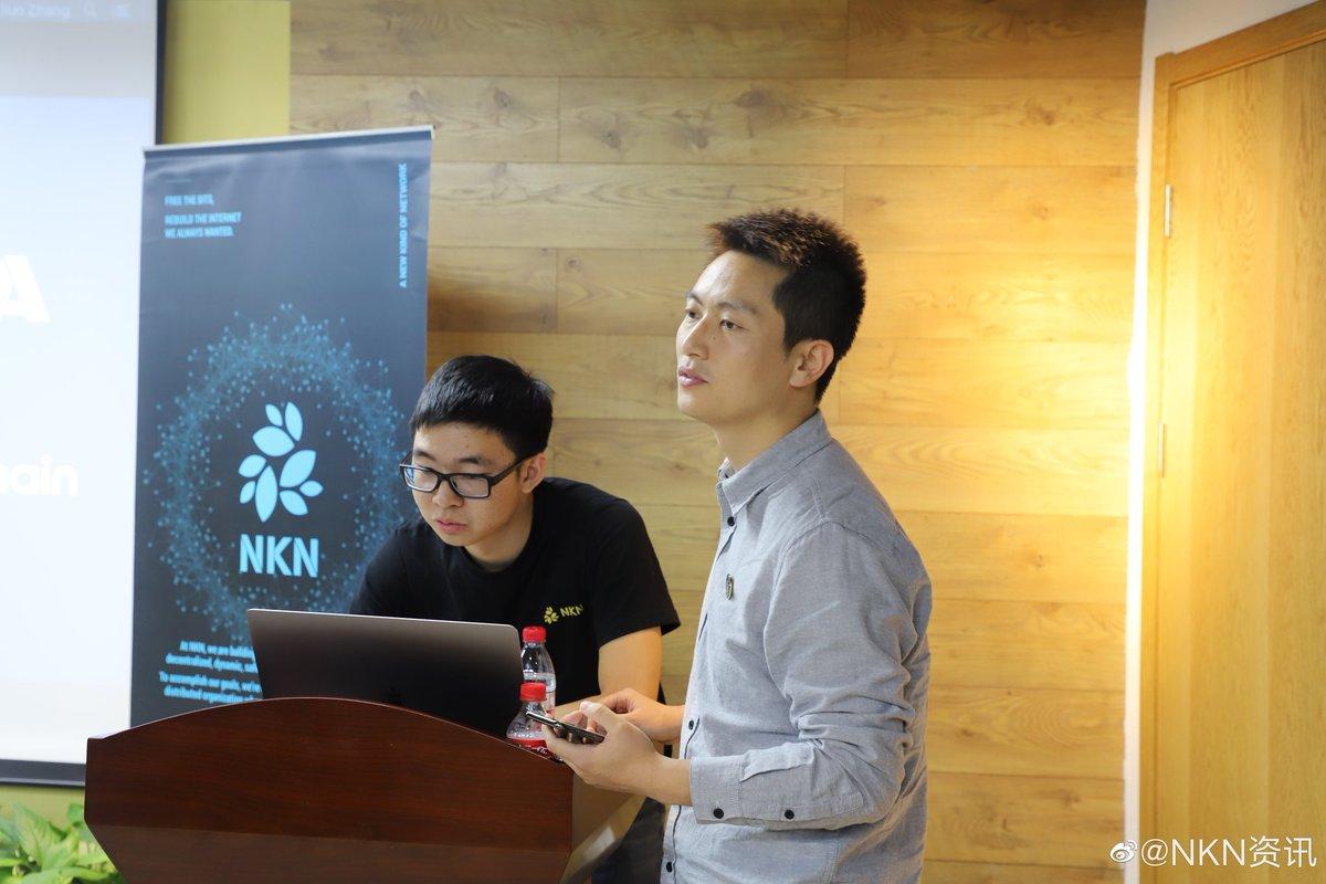Tweet by @NKN_ORG