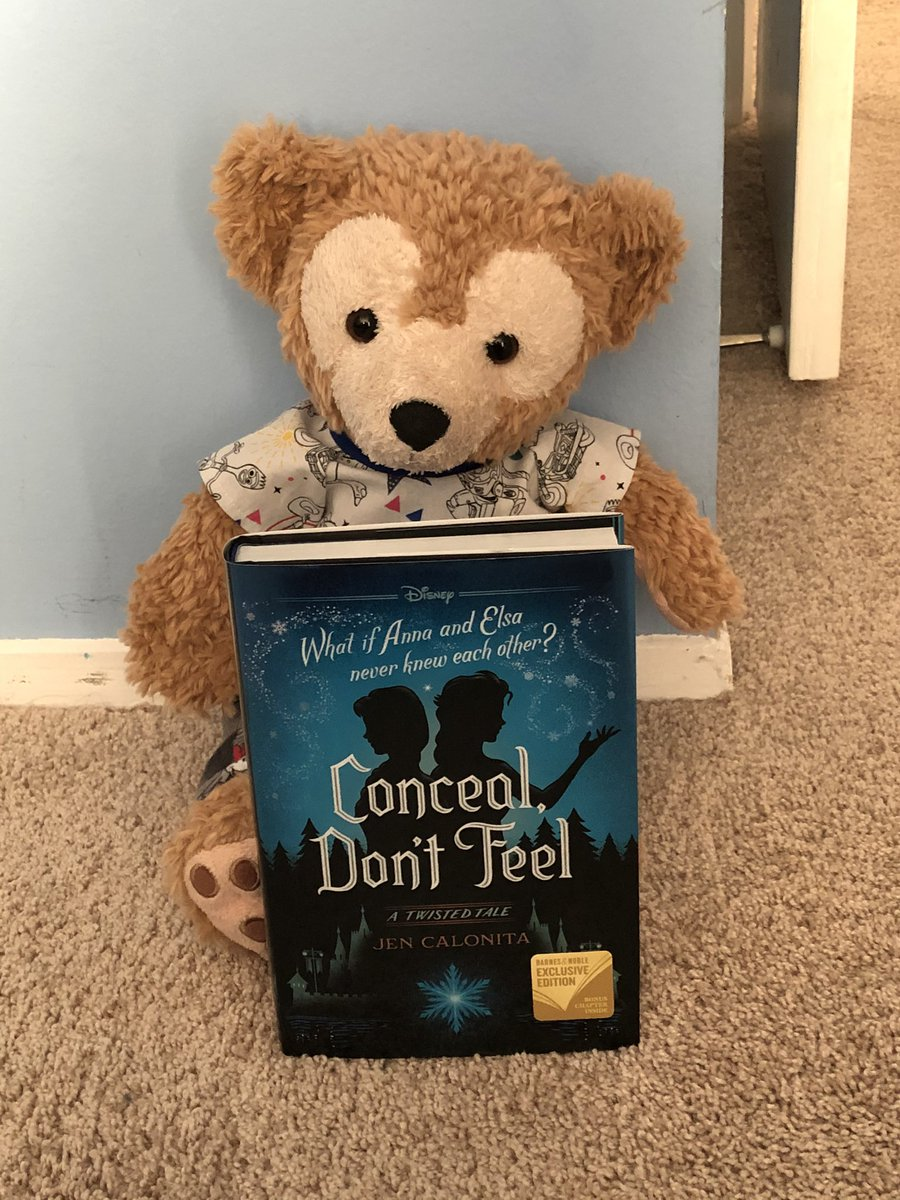Here is mine and mommy new book to read we are Super excited to read this book.  the cover looks so beautiful.  We can't wait to see frozen two #duffythedisneybear @DisneyFrozen #booklovers @DisneyBooks #Booktube #Disney