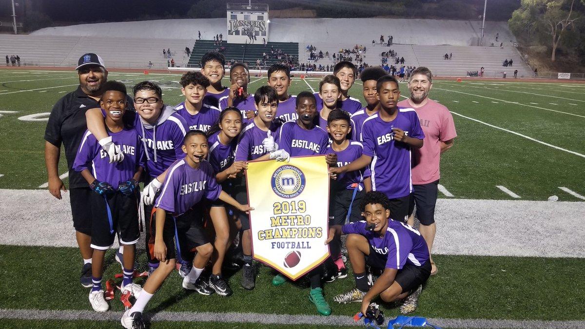 2019 MSAL Metro Division Football Champions - Eastlake Tritons @EastLakeTritons