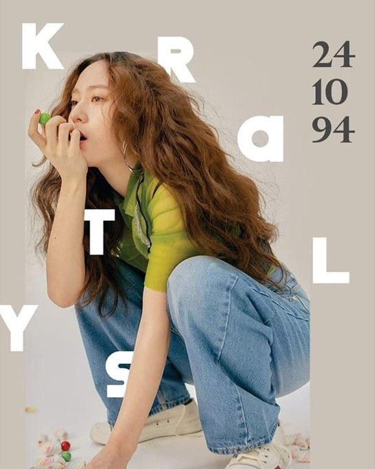 Happy birthday to this aesthetic queen Krystal Jung! Stay strong soojung ah