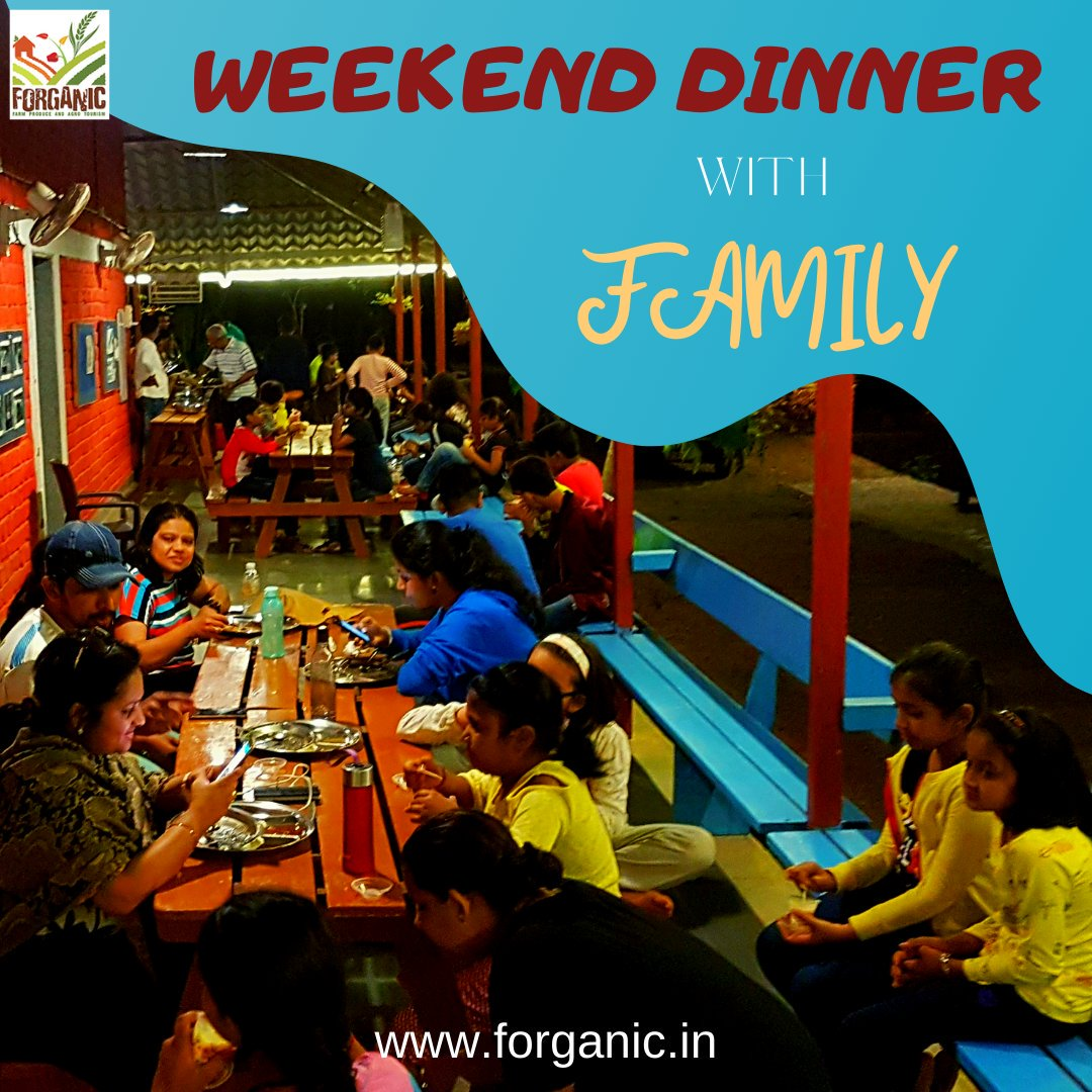 Enjoy an unparalleled weekend dinner with your family and loved ones in the best resort of khopoli- Forganic Farm. visit us - https://t.co/YYhL0dMCrk . . #forganicexperience #Forganic #tentstay #Khopoli #mumbai #pune #WeekendFun #midweekmotivation #familydinner #familytime https://t.co/vzFSjnF3QQ