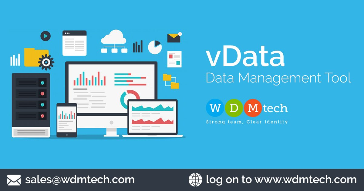 https://www. wdmtech.com/vdata-data-man agement-tool   …  Data Management is as successful as the tools used to store, analyze, process, and discover value in an organization's data.#DataManagementTool #DataImportTool #Datamigrationtools #JoomlaImportExport #JoomlaExtension #JoomlaDevelopment #JoomlaPlugin <br>http://pic.twitter.com/HgE2cjAf5h