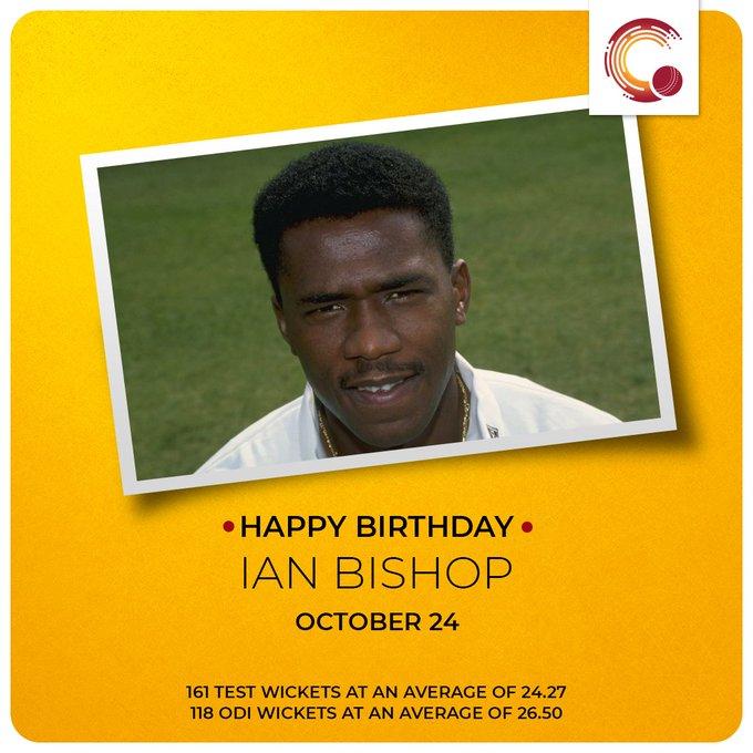 Happy Birthday to Ian Bishop and Wriddhiman Saha!