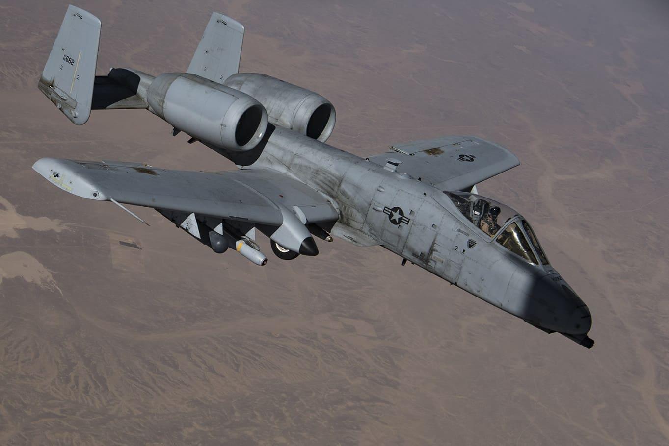 A-10 attack plane