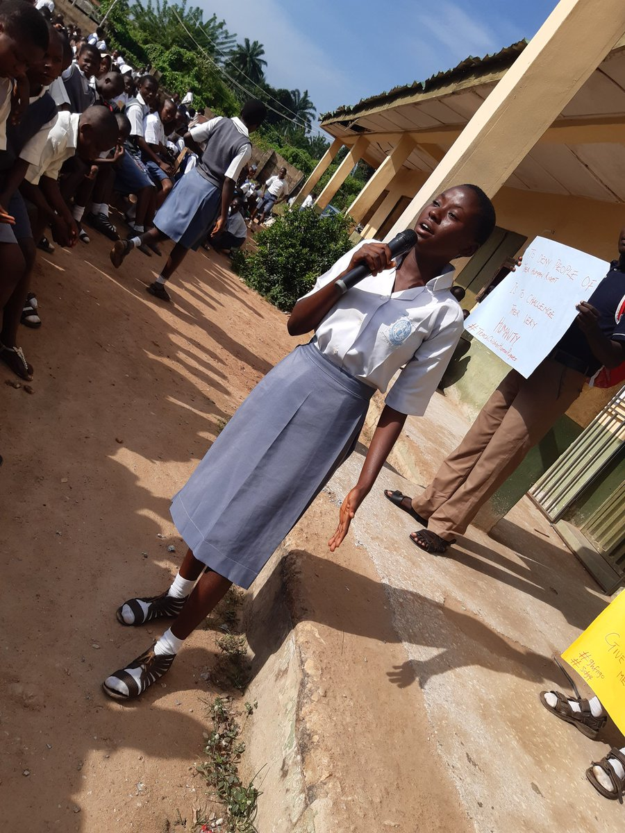 #Tbt #AnglicanHighSchool #AdoEkiti Human rights education is more than just subject matter, it's a way of thinking about the world. It's about putting the underlying principles of human rights to work — fairness, respect for human dignity and difference, tolerance, and equality.pic.twitter.com/vr6ttMGf8d
