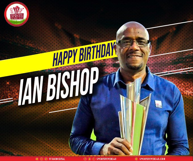 Happy birthday to the ace cricketer & commentator, Ian Bishop