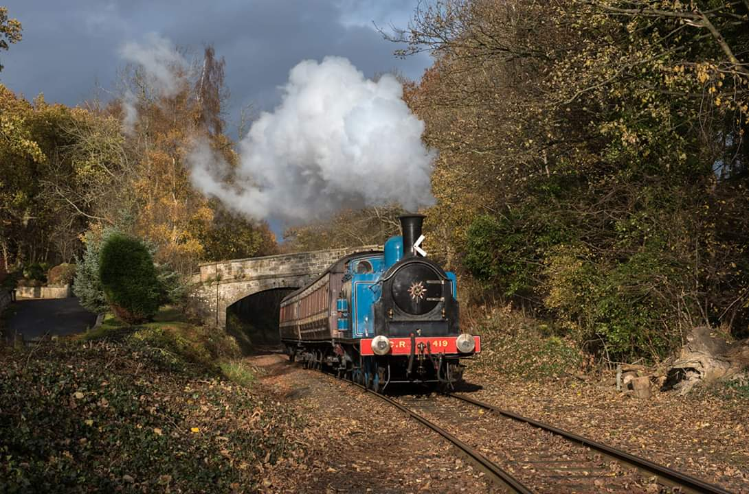 test Twitter Media - #ThrowbackThursday to our #AutumnSteamGala in November 2018. Who's coming to our Gala next weekend? See you there! Full details 👉 https://t.co/w6SXhu94J9  @bonessrailway @VFalkirk @VisitScotNews  @BonessCC @kinneil  📸 J. Gourlay   ^JS https://t.co/J1y5b7FD5T