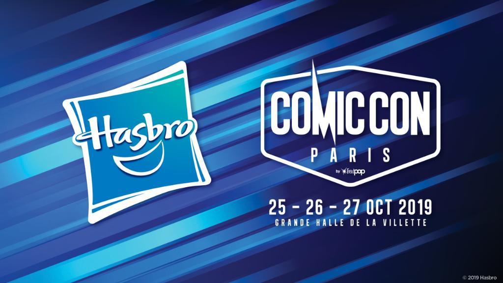 Attending @ComicCon_Paris? Catch these #Hasbro brand panels: Hasbro Star Wars, Power Rangers, & Transformers 📍Grand Scené 🕐Vendredi, 25 Octobre @ 16h30 Hasbros Marvel brand team with C.B. Cebulski, Editor In Chief of Marvel Comics 📍Grand Scené 🕐Samedi, 26 Octobre @ 10h