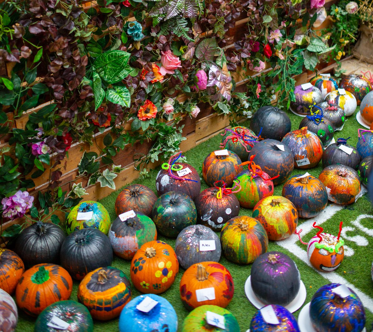 Only 2 days left until our Pumpkin ball, have you decided how you're going to decorate your pumpkin? 🎃  We love looking back at your fang-tastic creations from last year. #vsqhalloween #pumpkinball