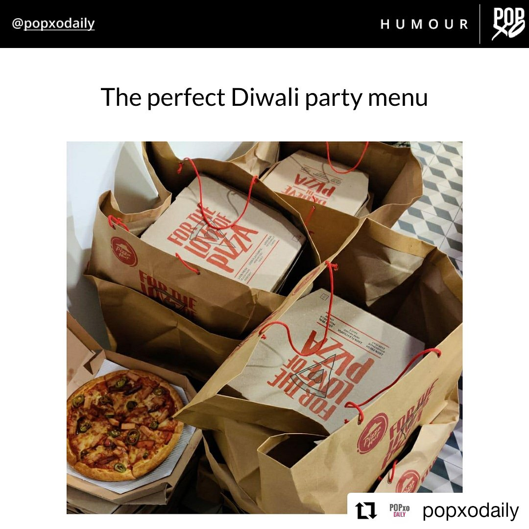 Yaaaaaas POPxoDaily, that s how you throw a Diwali party. PizzaHutWaliDiwali https t.co A7RJCaBmUW