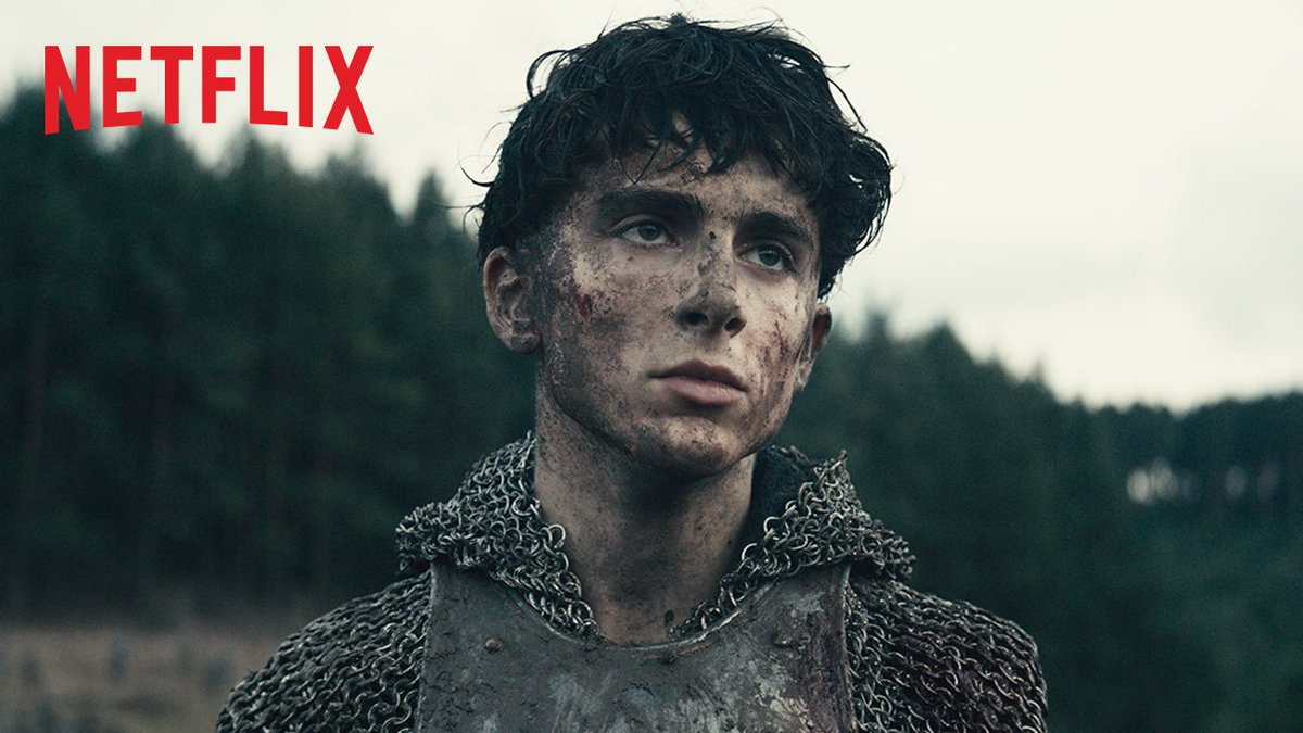 Timothée Chalamet, your throne awaits. All hail The King! Streaming on Netflix 1 Nov.