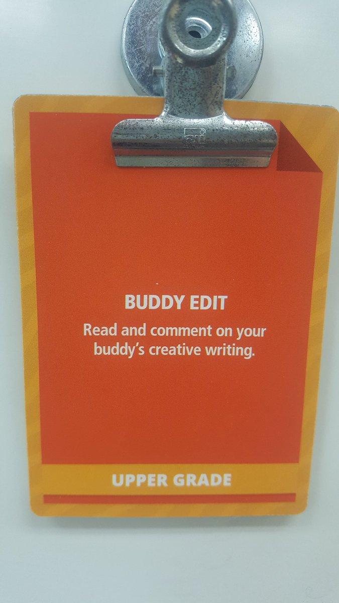 Buddy Edit with our @SanfordHarmony buddies this morning! ✏📃 #HarvieHeroes #3rdgrade #collaborators