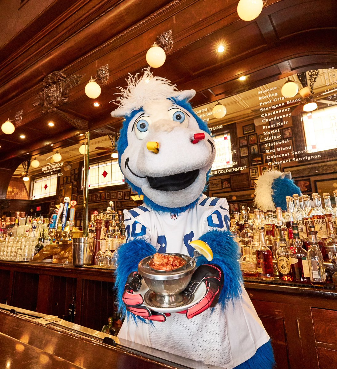 @blue needs our help to vote him into the Mascot Hall of Fame! And he's not above trying to bribe you with shrimp cocktail. VOTE HERE: mascothalloffame.com/thevote/
