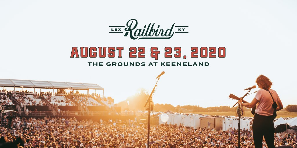 Railbird Festival 2020 dates