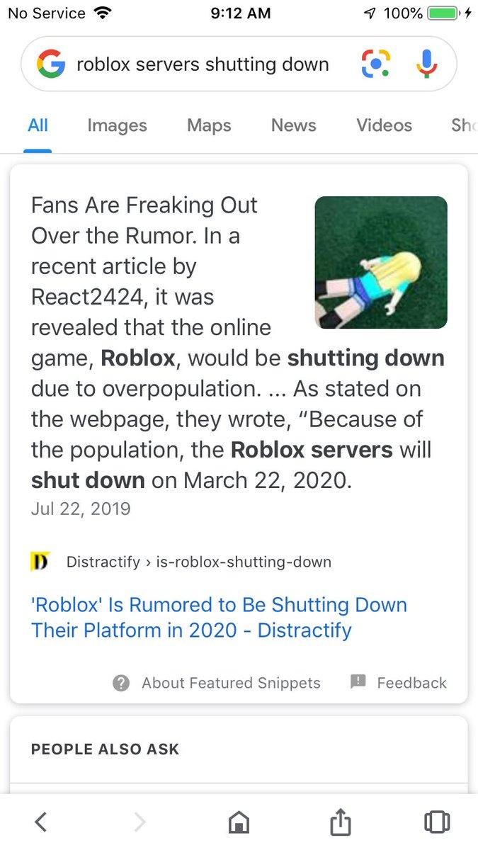 Roblox Shutting Down 2020 Channel 45 News