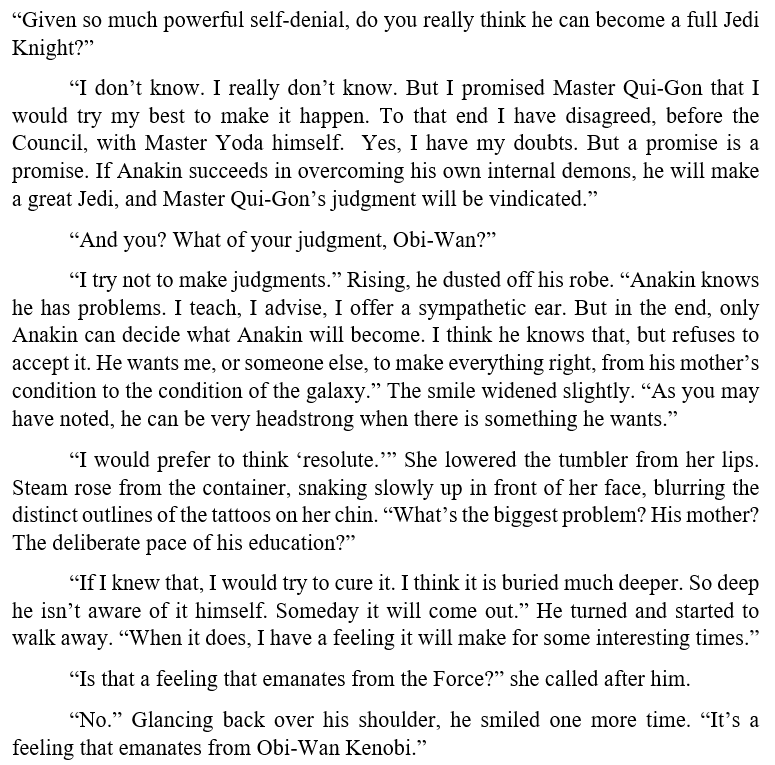 The Approaching Storm by Alan Dean Foster  #BookQuoteoftheDay #ObiWanKenobi #LuminaraUnduli #AnakinSkywalker<br>http://pic.twitter.com/OGuvkDf7wh