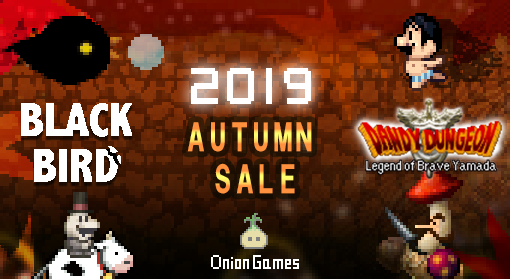 Summer's over, and... our Switch games are on sale! Stay inside & play games all day!  Through Nov. 4th, DANDY DUNGEON is 30+% off!! Just $16.99!!   And our operatic shooter BLACK BIRD is 50% off! Just $9.99!!   We hope you love them!