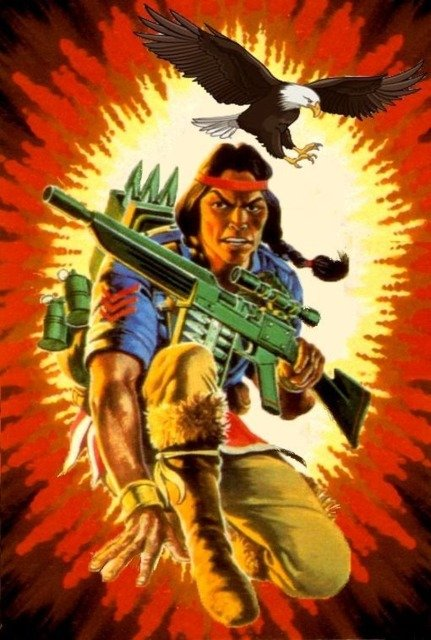 13) education. Spirit returned to service for reasons inexplicable to anyone but a native American mystic warrior. Qualified expert: M-16; M-1911A1 Auto Pistol; Remington sniper rifle. Per is Bio card ( @Hasbro)  @Blair_Redford would be perfect.