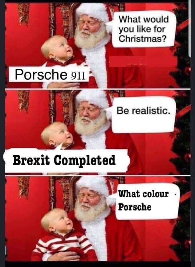 Wonder why Johnson wants a Christmas election? He must know Brexit won't be done by then!