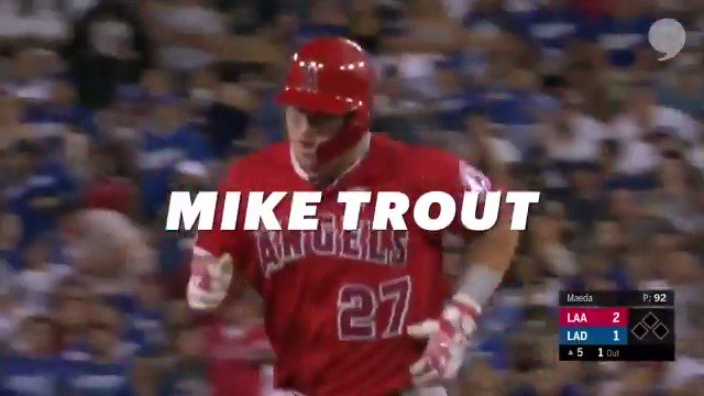 @MikeTrout is the best player in the world. - @Anthonyrendon_6 The @Angels center fielder was voted for both the AL Outstanding Player and the Player of the Year by his fellow #MLBPlayers. Congrats, Mike! What youre doing is INCREDIBLE! | @MLB_PLAYERS x @PlayersTribune