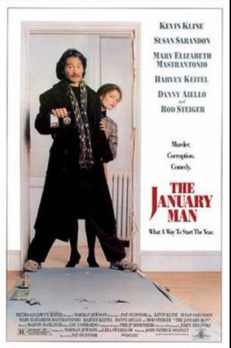 Happy 72th birthday Kevin Kline! THE JANUARY MAN (1989)