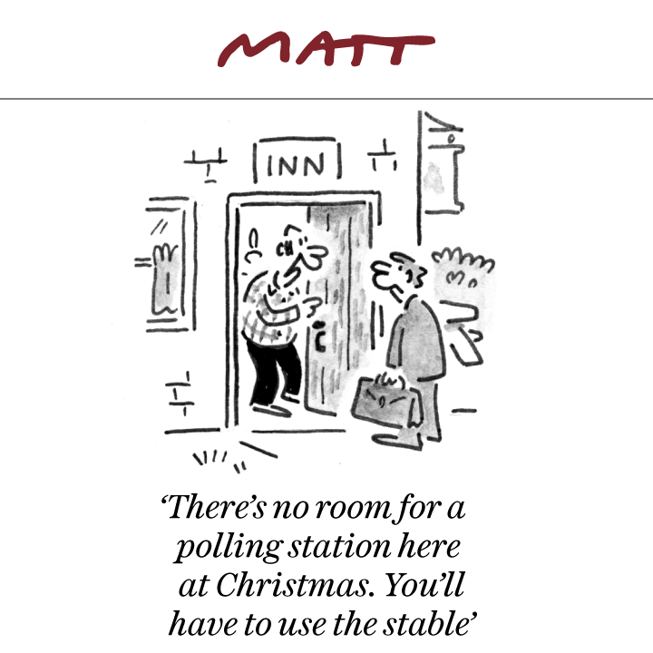 Here's my cartoon for tomorrow's @Telegraph #TomorrowsPapersToday