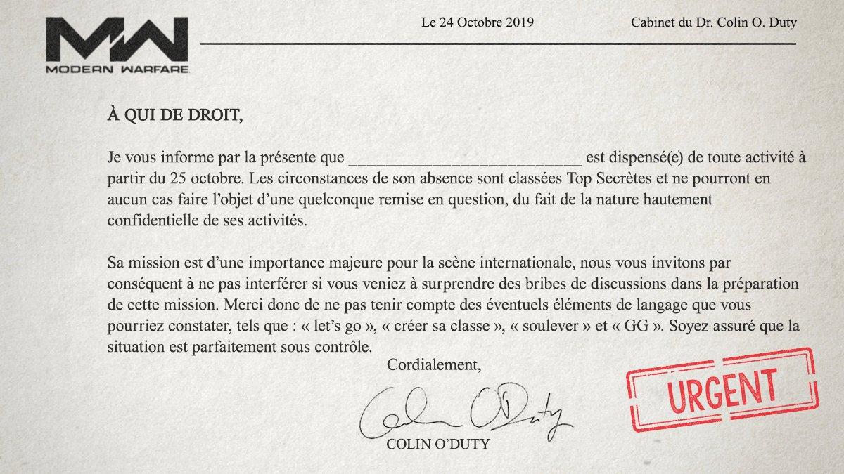 Call Of Duty France En Twitter Vous Avez Oublié De Poser