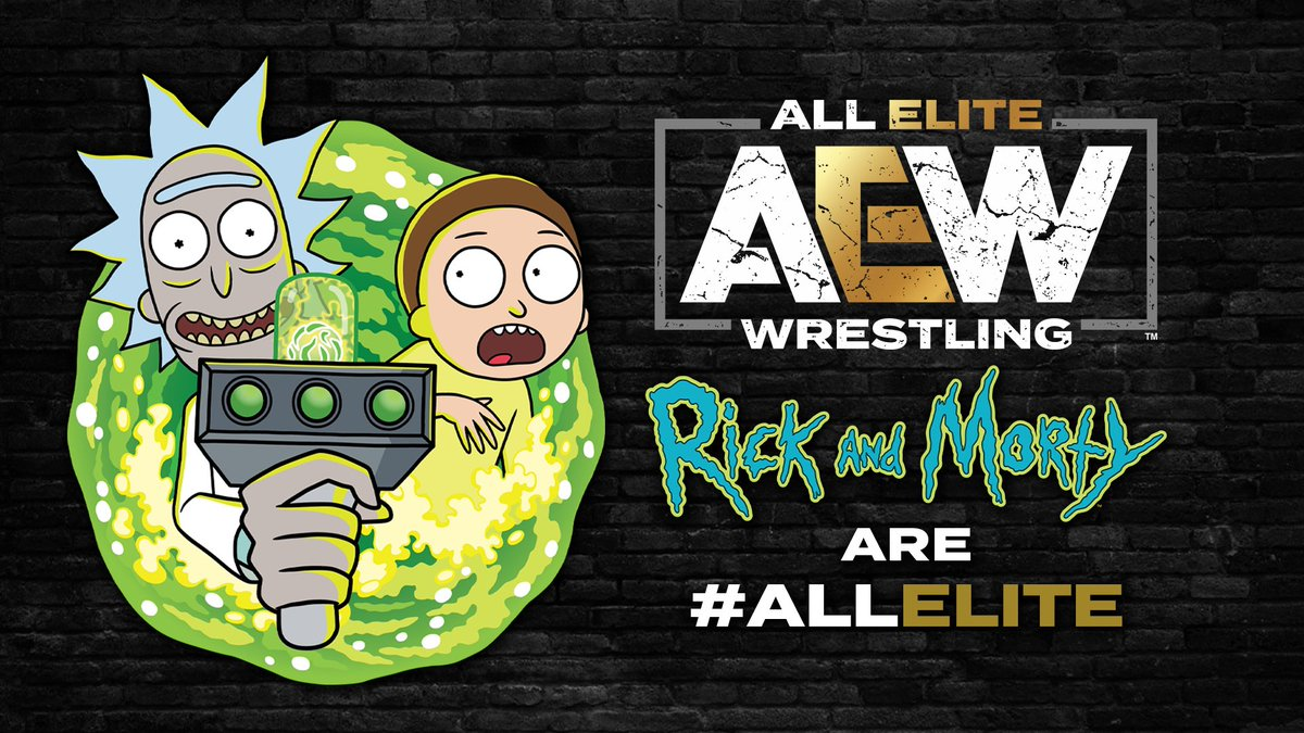 "AEW Announces Rick & Morty Are ""All Elite"", Special Halloween-Themed AEW Dynamite Episode Next Week"
