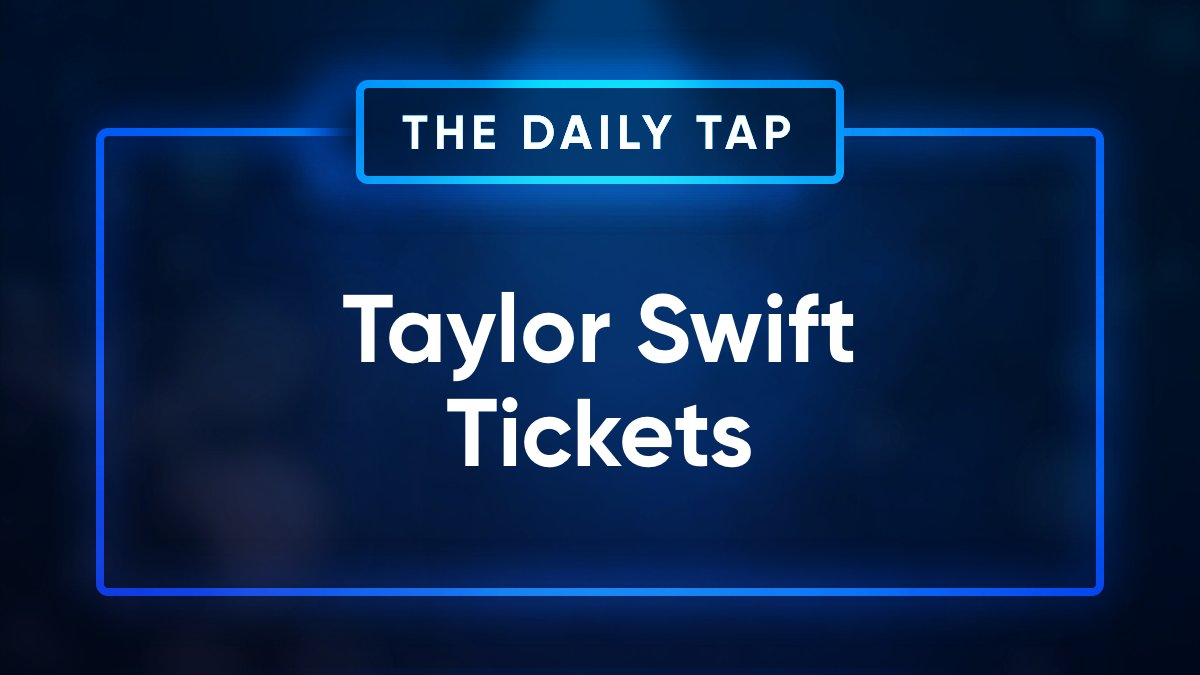 Taylor Swift floor seats for free. That is all. Enter the #DailyTap giveaway. Just Retweet + Download + and Enter👇 sg.app.link/sBB4EgZkr0