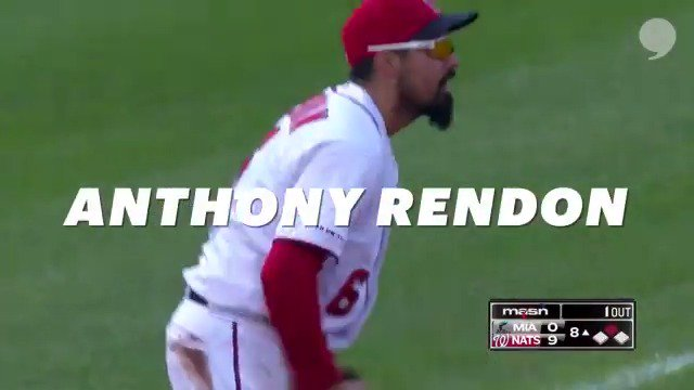 What doesnt @Anthonyrendon_6 do? Lethal on both sides of the ball, this @Nationals third baseman locked up his first NL Outstanding Player in the 2019 Players Choice Awards. Were sure there will be plenty more. Congrats, Anthony! | @MLB_PLAYERS x @PlayersTribune
