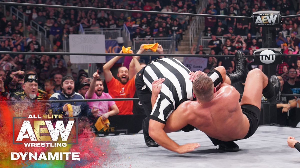 Jon Moxley Reprimanded By AEW For Another Attack On A Referee