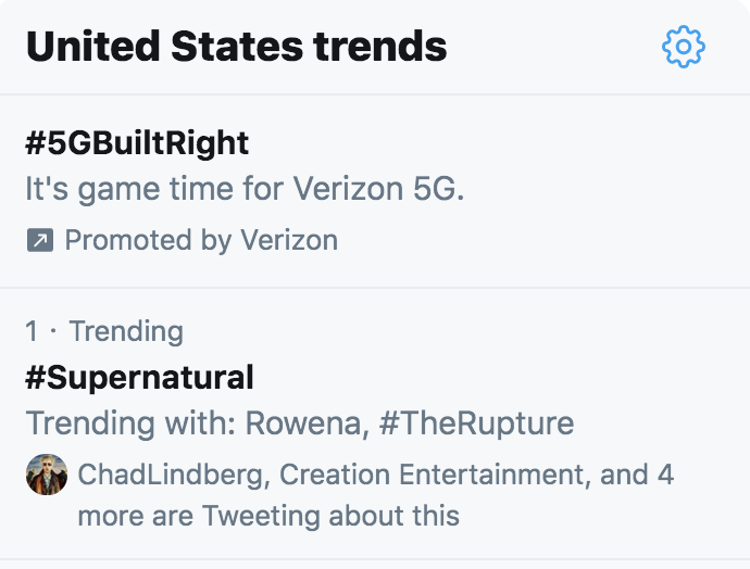 Why is #Supernatural trending at #1 right now?! Is it because you people like to see me sad?!