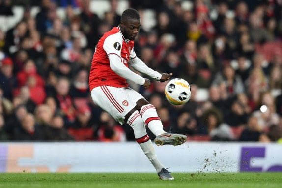 Pepe admits disappointment after Unai Emery's dismissal at Arsenal